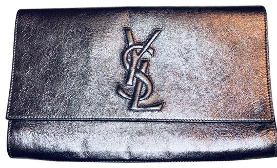 Preload https://item2.tradesy.com/images/saint-laurent-belle-de-jour-metallic-silver-calfskin-leather-clutch-24898666-0-4.jpg?width=440&height=440