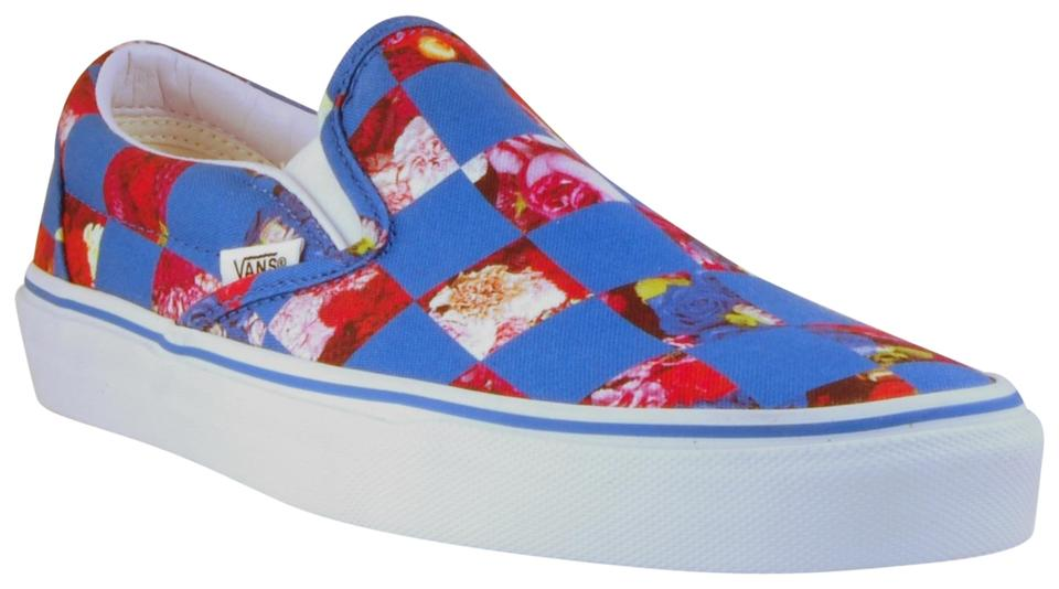 2da7f9caa15 Opening Ceremony Checkered Canvas Limited Edition Imported Sneaker Blue  Flats Image 0 ...