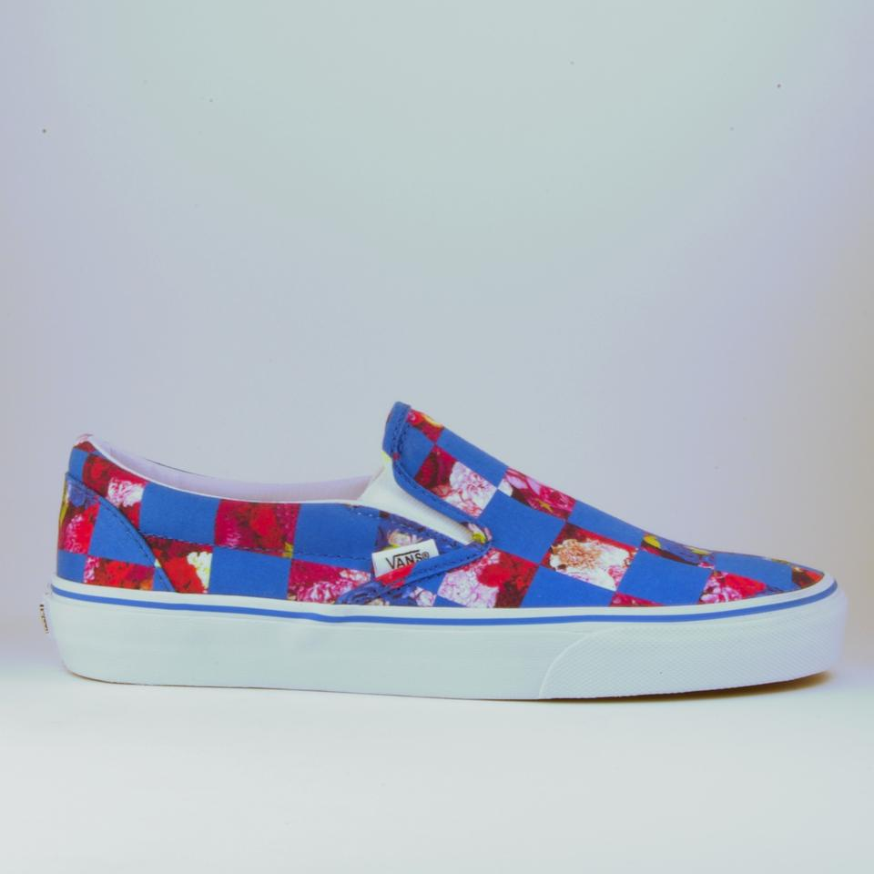 d45b28788434 Opening Ceremony Blue Limited Edition Vans Royal Checker Slip On ...