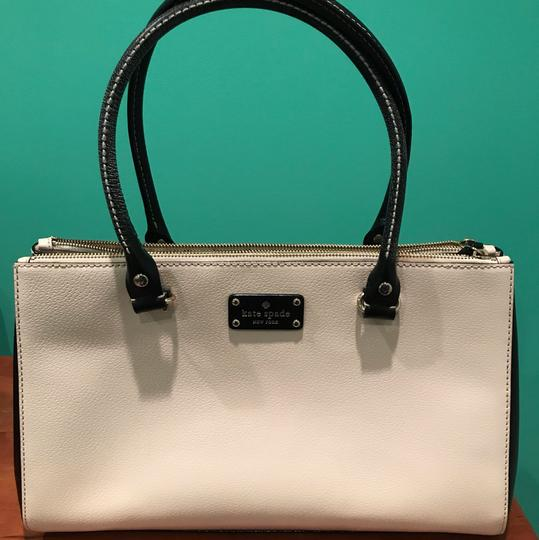 Kate Spade Satchel in Black and white Image 7