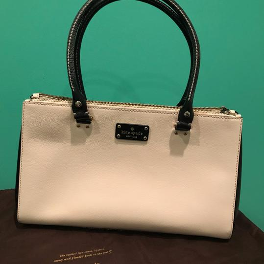Kate Spade Satchel in Black and white Image 9