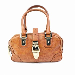 Gucci Princy Pelham Abbey Joy Boston Satchel in Brown