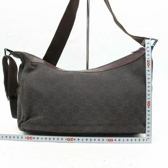 Gucci Croissant Half Moon Messenger Cross Body Bag Image 5