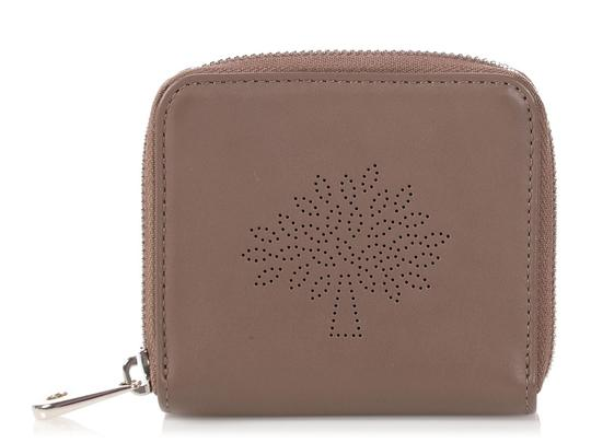 Preload https://img-static.tradesy.com/item/24899029/mulberry-brown-taupe-calfskin-blossom-zip-around-purse-wallet-0-0-540-540.jpg