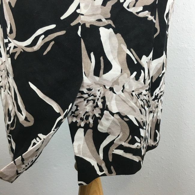 Banana Republic short dress Black & White Strapless Floral Cocktail on Tradesy Image 5