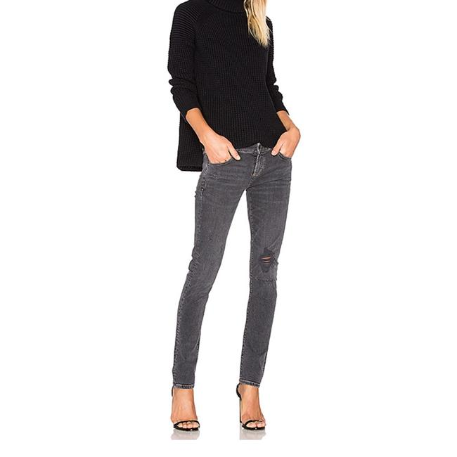 AGOLDE Skinny Jeans-Distressed Image 3