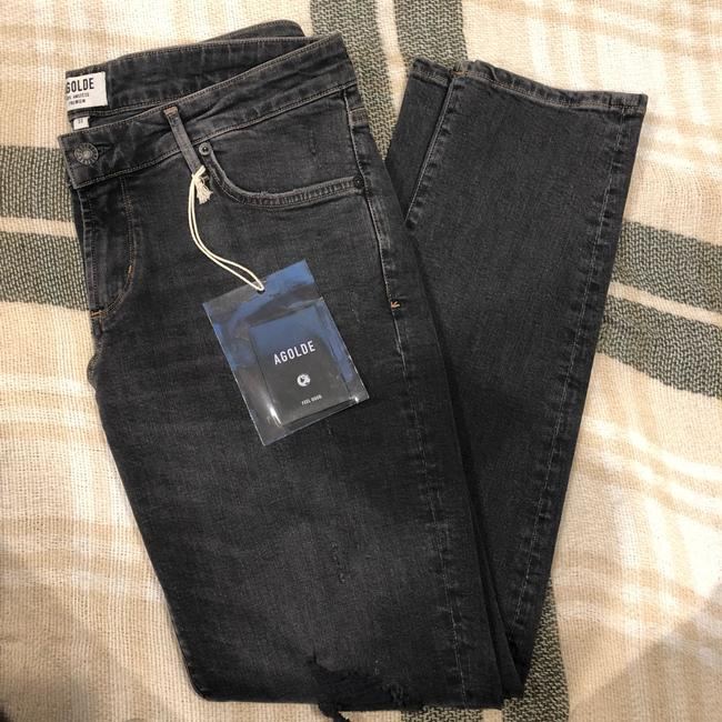 AGOLDE Skinny Jeans-Distressed Image 4