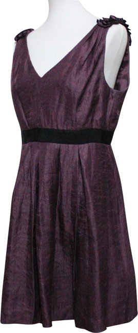 Preload https://img-static.tradesy.com/item/24899154/purple-mid-length-cocktail-dress-size-petite-12-l-0-1-650-650.jpg