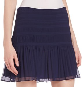 Diane von Furstenberg Mini Skirt navy blue