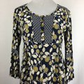 Green & Navy Blue Maxi Dress by Boden Button Front Tunic Boho Image 4