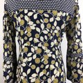Green & Navy Blue Maxi Dress by Boden Button Front Tunic Boho Image 5