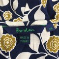 Green & Navy Blue Maxi Dress by Boden Button Front Tunic Boho Image 7