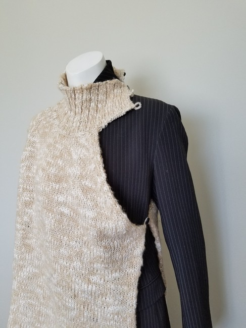 My Own Design Knitted Wool Modern Contemporary Fashion Blazer Jacket Image 10