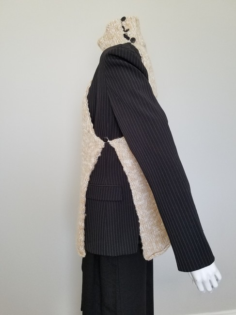 My Own Design Knitted Wool Modern Contemporary Fashion Blazer Jacket Image 5