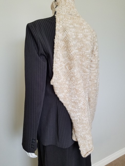 My Own Design Knitted Wool Modern Contemporary Fashion Blazer Jacket Image 6