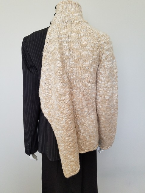 My Own Design Knitted Wool Modern Contemporary Fashion Blazer Jacket Image 7