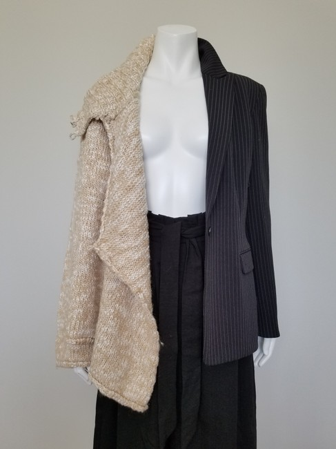 My Own Design Knitted Wool Modern Contemporary Fashion Blazer Jacket Image 9