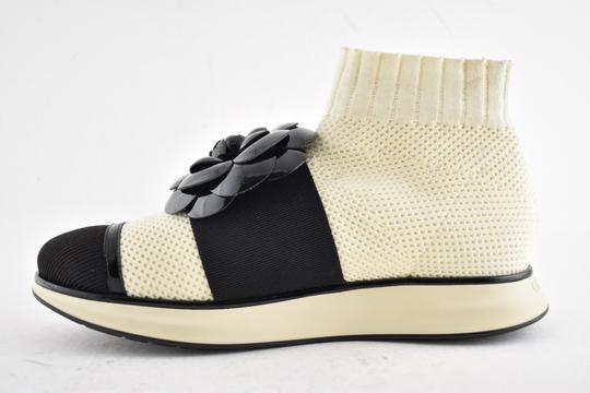 Chanel Trainer Sneaker Runway Flat Ivory Athletic Image 6