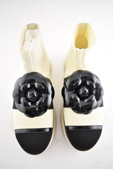 Chanel Trainer Sneaker Runway Flat Ivory Athletic Image 5
