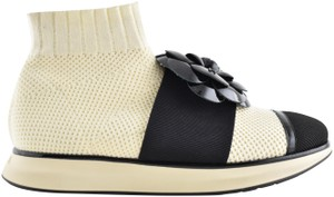 Chanel Trainer Sneaker Runway Flat Ivory Athletic