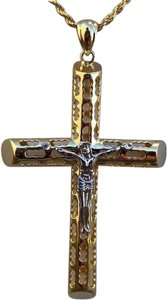 Harlembling Men's 14k Yellow Gold Over 925 Silver Large 2x3