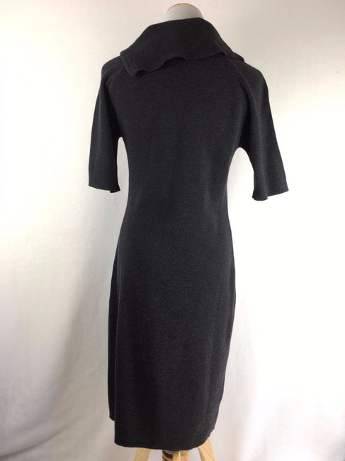 Calvin Klein short dress Black Modest Zippered Cowlneck on Tradesy Image 1