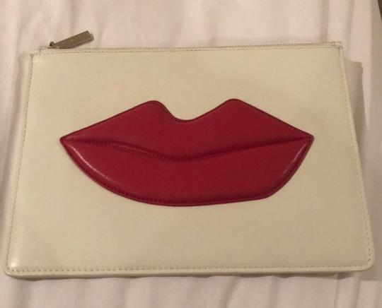 Alice + Olivia white, red Clutch Image 1