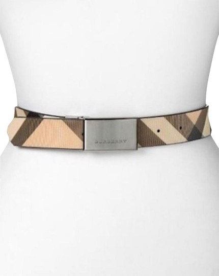 Preload https://img-static.tradesy.com/item/24899446/burberry-house-check-and-black-pvc-and-patent-leather-reversible-belt-0-1-540-540.jpg