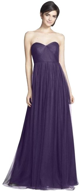 Item - Amethyst Annabelle Convertible Tulle Long Formal Dress Size 4 (S)