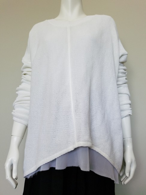 My Own Desgin Cotton Avant-garde Modern Contemporary Loose Fit Sweater Image 10