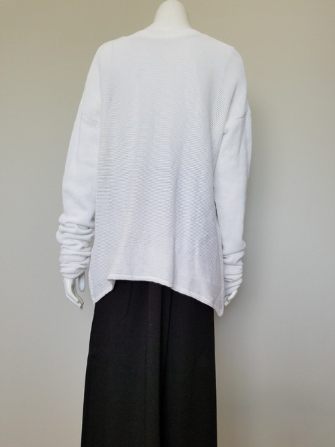 My Own Desgin Cotton Avant-garde Modern Contemporary Loose Fit Sweater Image 2