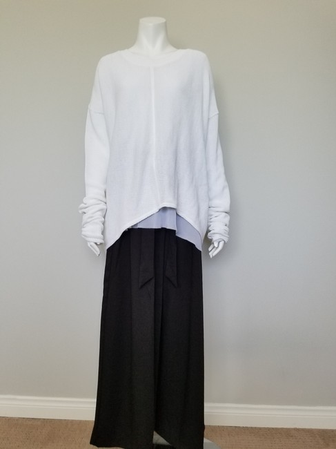 My Own Desgin Cotton Avant-garde Modern Contemporary Loose Fit Sweater Image 4