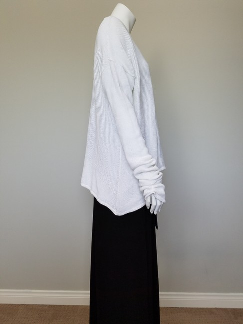 My Own Desgin Cotton Avant-garde Modern Contemporary Loose Fit Sweater Image 5