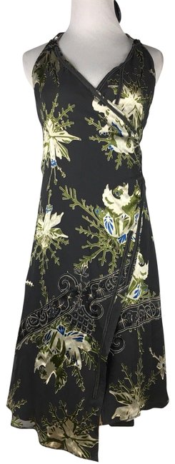 Preload https://img-static.tradesy.com/item/24899590/diesel-green-gray-womens-dragon-floral-velvet-burnout-wrap-haltersz-xs-long-night-out-dress-size-2-x-0-1-650-650.jpg