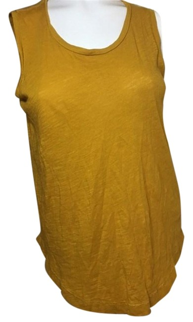 Preload https://img-static.tradesy.com/item/24899598/madewell-extra-small-mustard-color-tank-topcami-size-0-xs-0-1-650-650.jpg