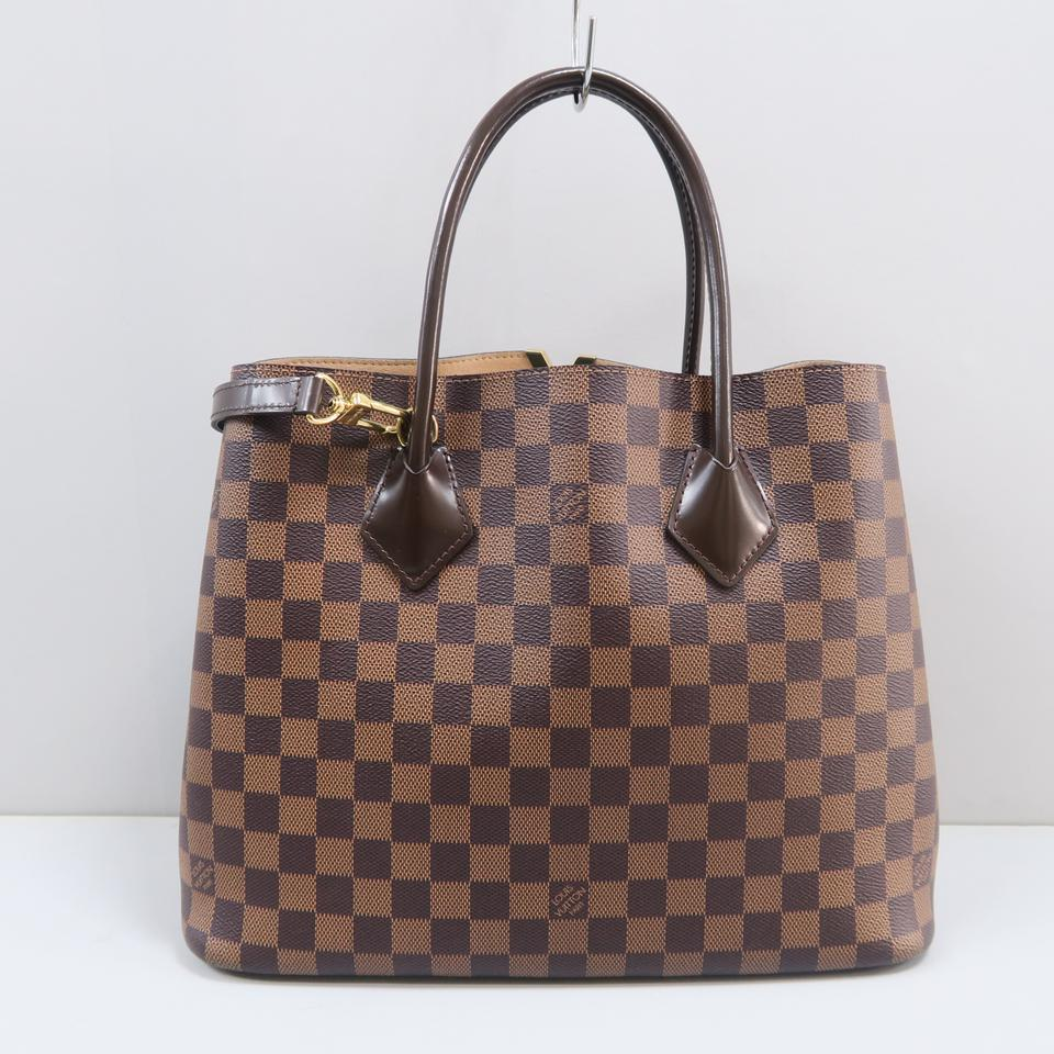 c9090141be7c Louis Vuitton Kensington Damier Ebene Brown Canvas Shoulder Bag - Tradesy