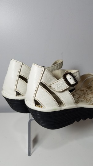 FLY London off-white Sandals Image 1