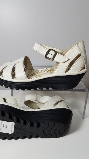 FLY London off-white Sandals Image 2