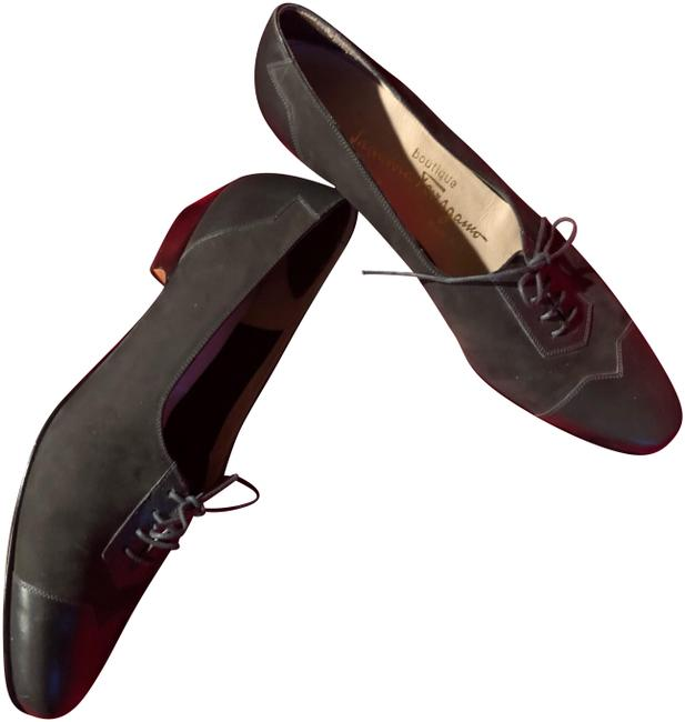 Item - Charcoal Gray Boutique Oxford Style Pumps Size US 8 Narrow (Aa, N)