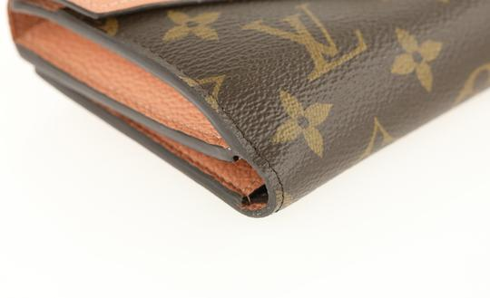 Louis Vuitton Monogram Compact Pallas Folding Wallet Bifold Image 3