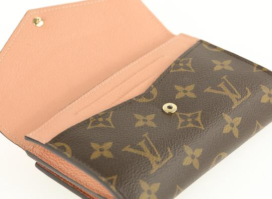 Louis Vuitton Monogram Compact Pallas Folding Wallet Bifold Image 6