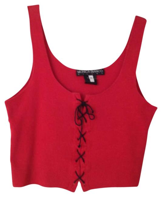 Monica Bianco Top Red