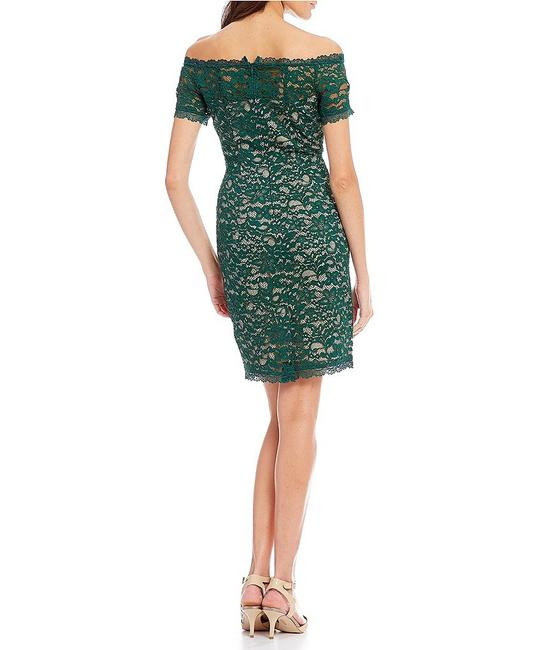 Adrianna Papell Lace Off The Shoulder Sheath Dress Image 1