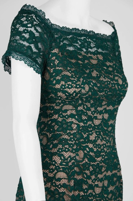 Adrianna Papell Lace Off The Shoulder Sheath Dress Image 4