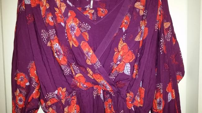 Free People Top Purple/pink/floral multi Image 3