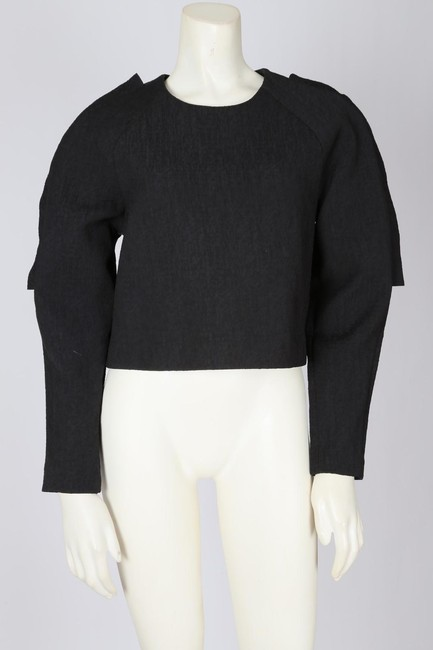 Cameo Casual Cropped Top Black Image 5
