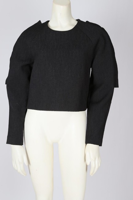 Cameo Casual Cropped Top Black Image 7