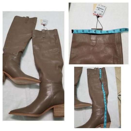 Zara Taupe Boots Image 11