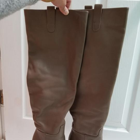 Zara Taupe Boots Image 7