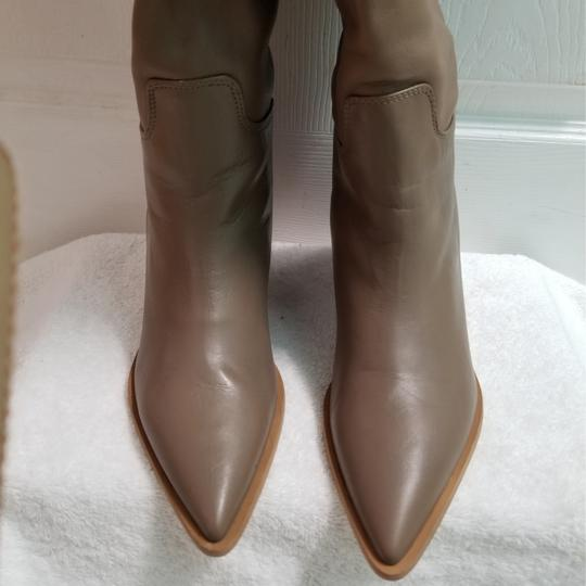 Zara Taupe Boots Image 9
